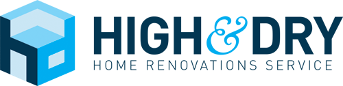 High & Dry Renovations Logo