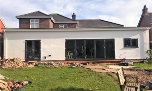 Rear Extension with Bi-fold doors Brigg