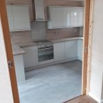Garage conversion to kitchen in Scunthorpe